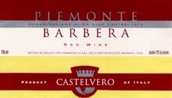 Castelvero Barberaws