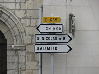 Road Signs Loire