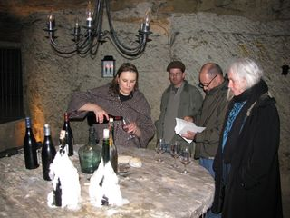 Cave Tasting Bourgueil